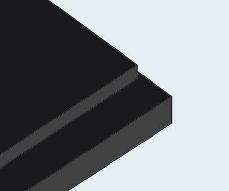 Gilman Insite Reveal Black Foam Board