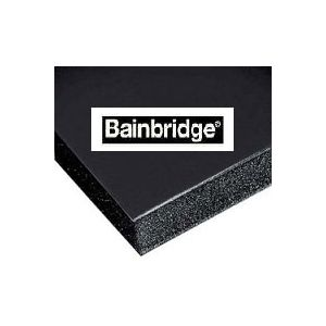 Bainbridge Black Foam Board 40 X 60 X 1/2 12  sheets