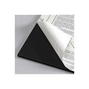 Black Self Adhesive Foam Board Custom Cut Sizes