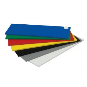 19mm Komatex PVC Board Cut Sizes White