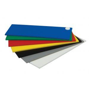 3mm Komatex PVC Board 24 x 30 x 3mm Light Blue 12 pieces