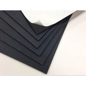 Black Self Adhesive Gator Board 48 x 96 x 3/16th 15 pack
