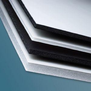 48 x 96 x 1/8th Duratex White Foam Board 25 pack