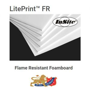 Flame Resistant Foam Core 25 pack 48 x 96 x 3/16