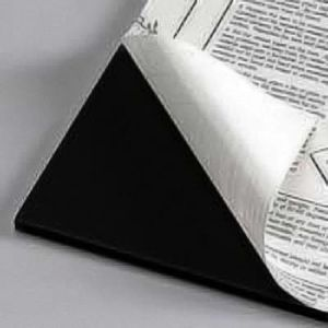Black Self Adhesive Gator Board 32 x 40 X 3/16th 12 pack