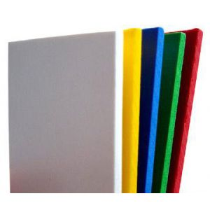 48 X 96 X 3mm 5 pack Black Sintra PVC Board
