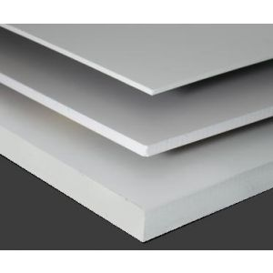 White Sinta PVC Board 6mm Custom Cut Sizes