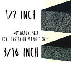 48 x 96 x 3/16 Black Ultra Board 15 Pack
