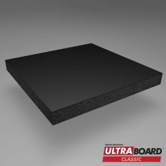 48 x 96 x 1/2  Black Ultra Board 12 Pack