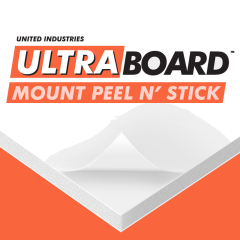 Ultra Mount Peel and Stick 48 x 98 x 3/16th Single Sheets