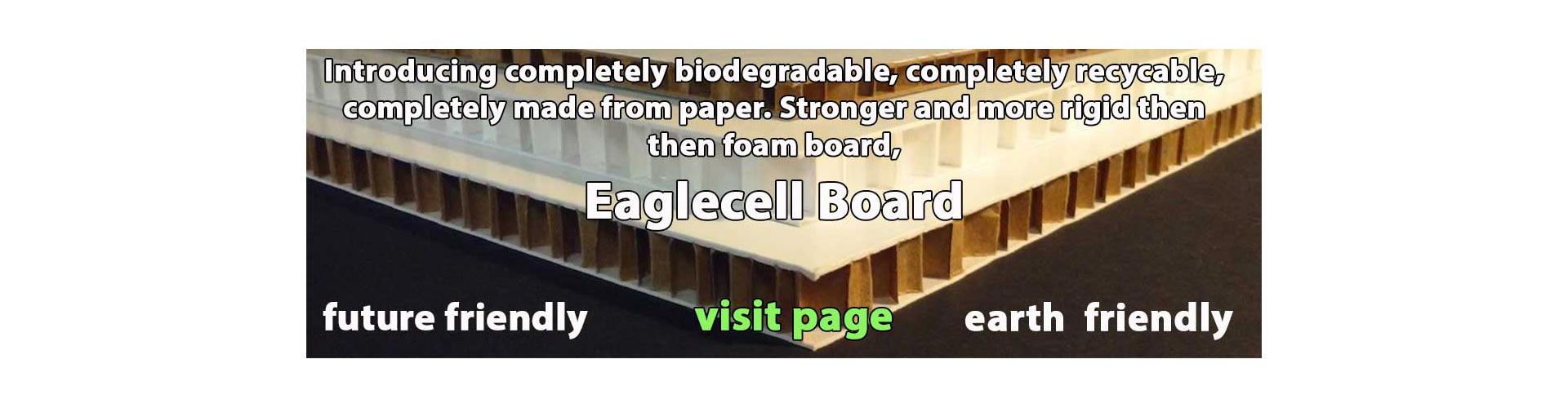 Recyclable  Eaglecell and Falconboard